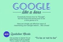 Google Like A Pro / Think you know everything about Google? Think, again! Check out these tips on how to google like a pro.