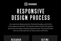 Website Design Tips / Tips on what makes a website design responsive and rules you need to follow to make a website successful. We definitely take pointers from this board too!