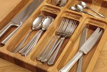 Solid Wood Cutlery Drawer Inserts / Our cutlery trays are made from a variety of beautiful, hard-wearing timbers, crafted with sophisticated machinery and finished by hand. An unmissable collection from Solid Wood Kitchen Cabinets.
