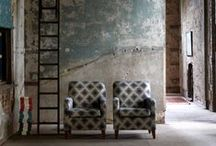 Interiors, Ancient & Modern, raw original style. / Imaginative, creative, unique, best of both worlds.