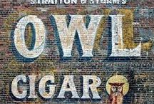 """Sign Painted Wall / """"Outside Art"""" Historic Painted Advertising Signs"""
