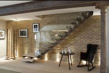 Four Storey Victorian Town House by Riviere Interiors / The style is contemporary/classical, incorporating modern facilities and conveniences within a framework of original architectural features and salvaged materials.