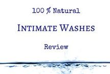 Natural feminine hygiene products / 100% natural feminine hygiene products for healthy vagina