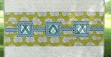 Quilt back ideas / Great ideas to make your quilt back special