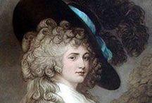 XVIII w. - kapelusz Gainsborough