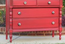 Painted Dressers / by Carrie Welch