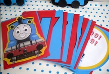 Thomas the Train / Ideas for a train themed party