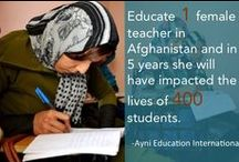 Girls' Education / by Razia's Ray of Hope