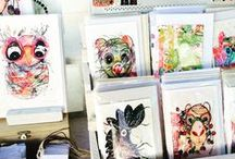 Art & Craft show display / Display ideas and inspiration for art and craft markets.