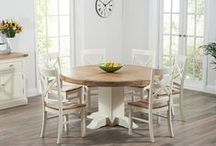 Oak & Cream Dining Sets