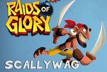 Raids of Glory characters / Raids of Glory game characters.  https://www.facebook.com/RaidsofGlory https://twitter.com/RaidsofGlory