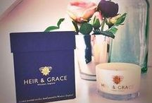 People Who Love Our Candles / Praise for Heir and Grace .