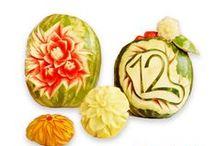 Carving / Přinášíme vám spoustu inspirace na carving. Vyčarujte z ovoce a zeleniny úžasné výtvory!