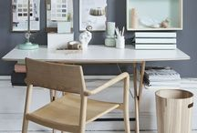 Workspace / home office / Inspirational working places at home.