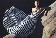 Stripes ~ Fashion Inspiration / Geometric shapes and prints to inspire fashion design, couture swimwear and bespoke fashion projects | www.SUMARIE.com