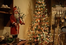 OLDE CHRISTMAS / Country Primitive & Old fashioned Christmas decorations / by Barbara Hartsuff