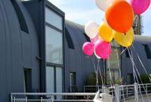 Decoración para eventos / Decoración para eventos y celebraciones. Globos de helio. Detalles personalizados.  / by Con Cuchara o Tenedor