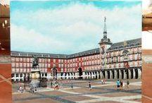 Cuadros de Madrid / Exposición de calles tipicas, edificios y monumentos históricos de Madrid pintado en óleo.