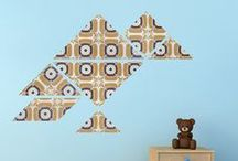 Wallpaper animals by Origami Zoo