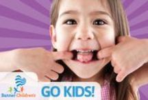 GO KIDS! / Join GO KIDS! Members get free stuff to help them stay active and healthy. They get to show off on the court, or the field, to win cool prizes. And there are lots of chances to fill their noggins and bellies with healthy bites and tasty information. Get ready for a summer of F-U-N! Ready? Set…GO KIDS! www.GOKIDS.BannerChildrens.com / by Banner Children's