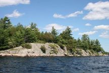 Stoney Lake / All over Stoney Lake on the Trent Severn Waterway in Peterborough County Ontario Canada