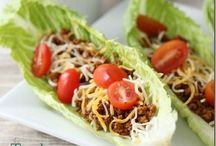 Recipes and Food Dishes / A variety of interesting entrees with creative ingredients.