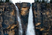 Yoho National Park Canada / Yoho National Park is across the British Columbia boundary west from Banff National Park in Alberta. It is my favourite Canadian park.