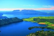 New Zealand / New Zealand has the most beautiful places on earth. Someday I will go there.