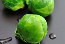 Brussels Sprouts / A wonderful vegetable is the Brussels Sprout.