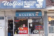 Jewish Delis / Jewish food places everywhere most commonly served in delicatessans