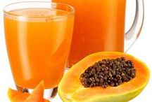 Papaya / Papaya or papa is excellent healthy fruit which aids digestions with enzymes.