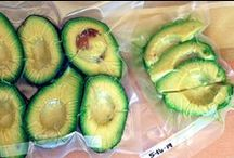Avocado / Avocado is a food that contains an excellent healthy fat good for you and good for cooking. I like avocado oil.