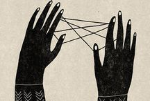 Cat's Cradle / The string and hands game. See the cat? See the cradle?