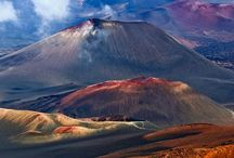 Volcanoes and Craters
