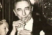 Bela Lugosi / The great horror actor Bela Lugosi best known for Dracula and work with Boris Karloff. He is not the monster perhaps someday you will meet the real monster.
