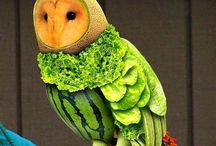 Artistic Fruit / Artistic photos and uses for fruit.  Food as art.