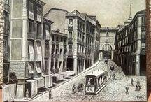 Madrid Antiguo / Calles, monumentos y motivos de madrid antiguos.