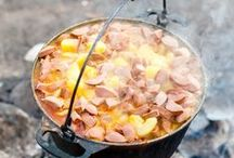 Camping recipes / Recipes easy to make while camping.