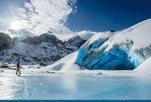 Winter adventures / Winter activities - snowshoeing, cross country skiing, hiking