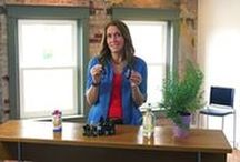 Product Videos / Learn more about the healing benefits of Essential Oils while watching short informational videos