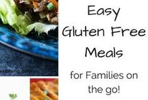 Easy Gluten Free Meals and Treat Recipes / Gluten Free Meals and gluten free treat recipes for those times you can't spend all day in the kitchen!