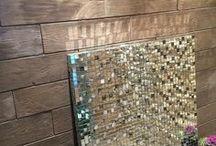 Revestimientos aspecto madera | Wood look wall claddings / Revestimientos de piedra reconstituida que imitan la madera. Consigue toda la calidez de la madera sin necesidad de tratamientos. Aptos para interior y exterior.