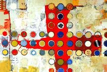 Mix It Up - Paints, Collage, Mixed Media, etc. / So many ways to make art!! / by Pamela Jacobs