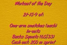 Crossfit Barbell/KB Workouts / WODs