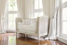 A room of white on white / There is nothing nicer or more calming than white on white interiors. I hope the creation of this board will be a source for fabulous white on white interior ideas.