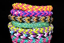 Crafts -- Loom Bands -- Bracelets / by Katie Lind
