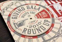 Wedding Invitaion: Spinning Wheel