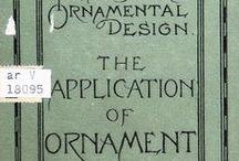 Historic Ornament / Historic textbooks on Ornament, Pattern and Decorative Design