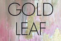 Gold Leaf, Flake & Foil