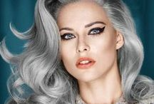 Grey Is The New Blonde / We all love our Granny's right? so why not show them complete respect in their golden years by going grey too...? Here are some inspirational grey hair pins. Enjoy!